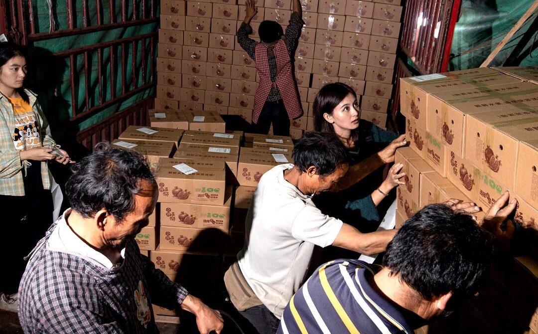 China's Quiet Ecommerce Giant Thrives on Fresh Produce